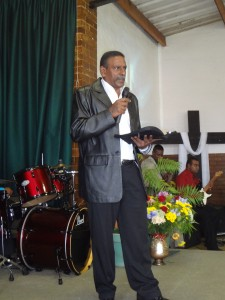Baptisim  Service  and new members